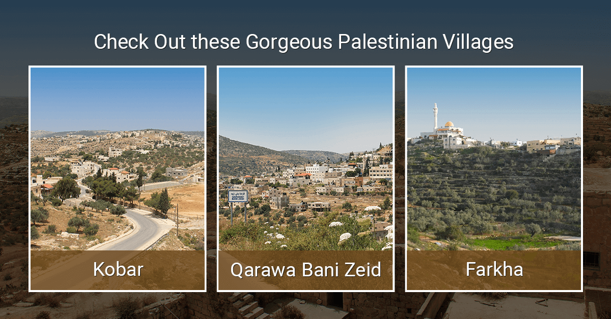 Check Out these Gorgeous Palestinian Villages