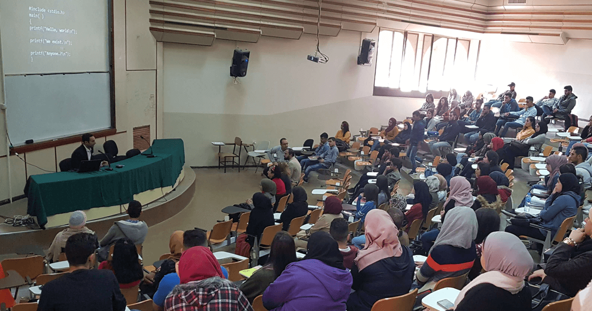 Khaled Sabawi Delivers Public Lecture on Entrepreneurship in Palestine at Birzeit University
