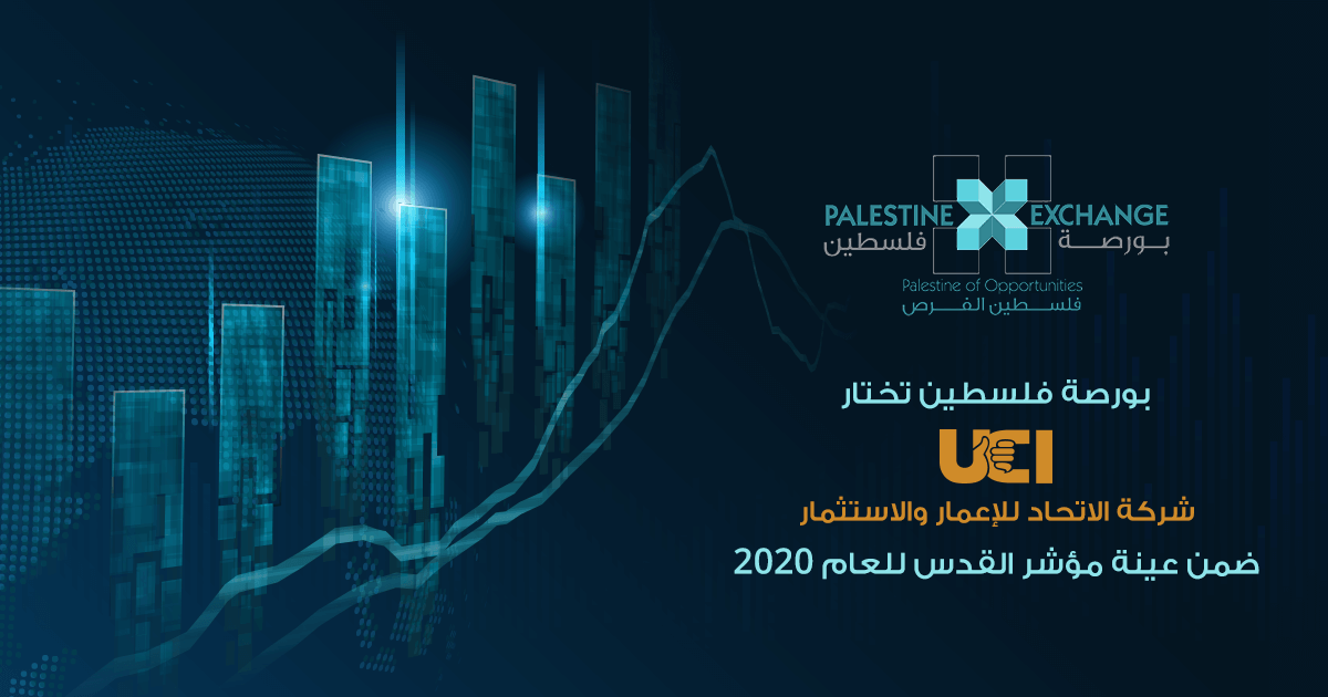 Palestine Securities Exchange Selects UCI to Represent Al Quds Index in 2020 for the Real Estate and Investment Sector