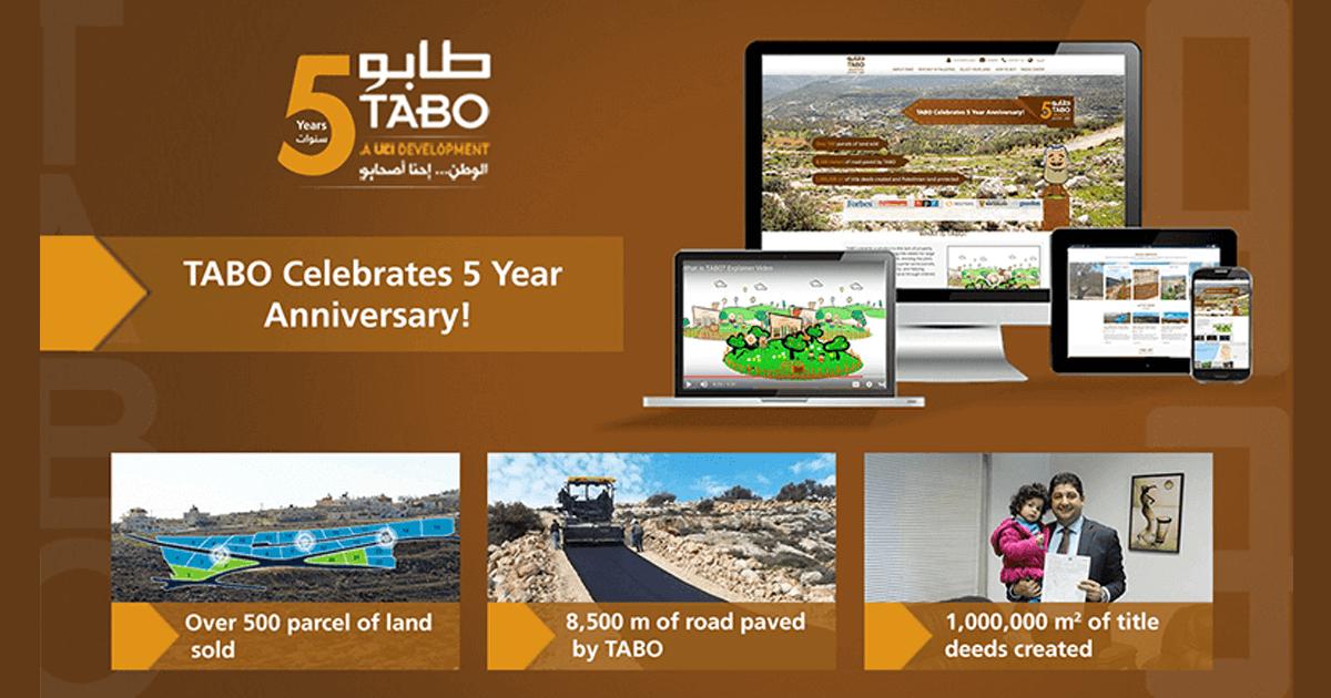 TABO celebrates its five year anniversary