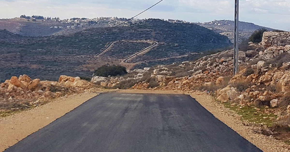 TABO Completes Paving Internal Roads in its Qarawa F Master Plan