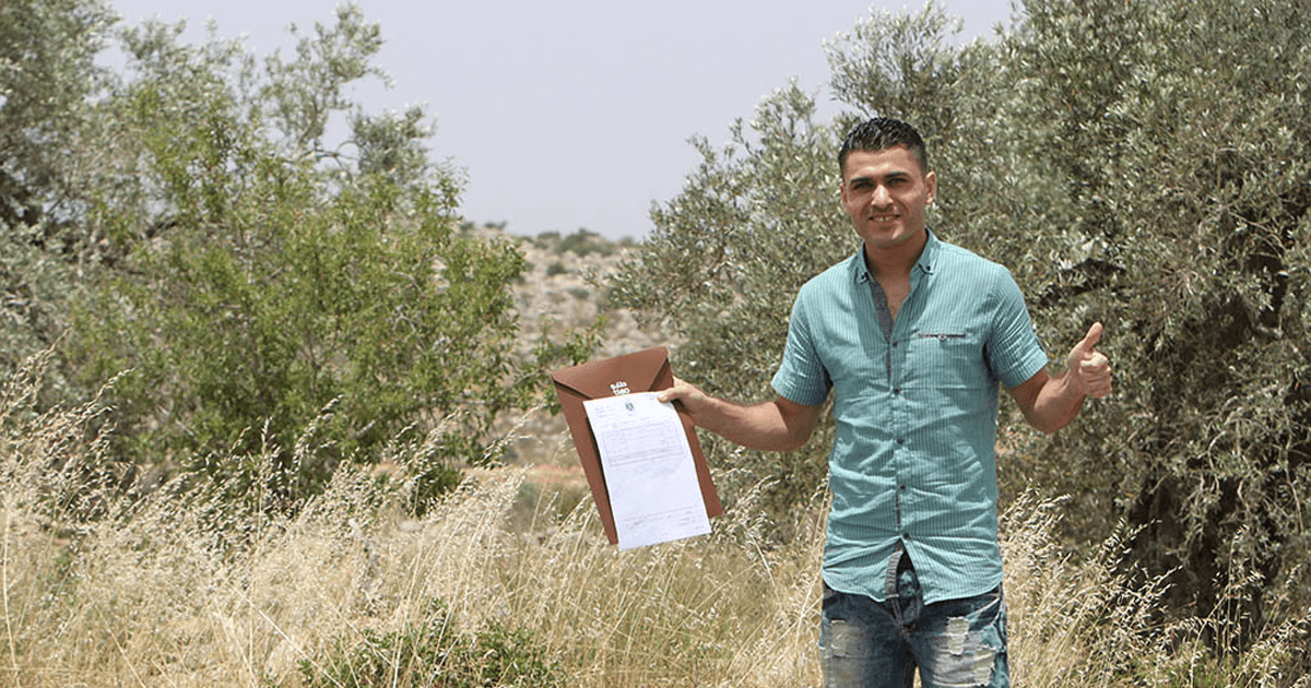 Top Palestinian Footballer Buys Land through TABO