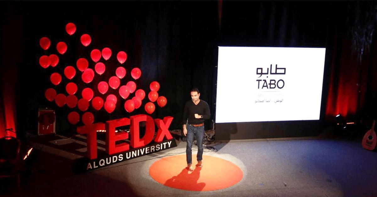 UCI's CEO, Khaled Sabawi, Delivers New TEDx Talk at Al-Quds University