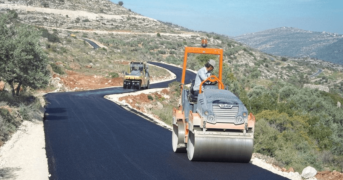 UCI's TABO Development Completes the Construction of New Roads in Qarawa Bani Zeid
